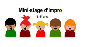 Stage d'impro pour enfants à Nantes 8-11 ans