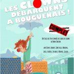 L'affiche du spectacle de clown, réalisée par Elodie Piet